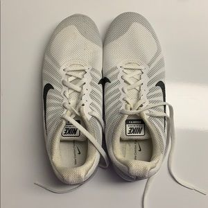Nike training TR6 fly knit white size 9